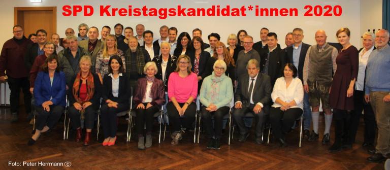 Foto KreistagskandidatInnen2020